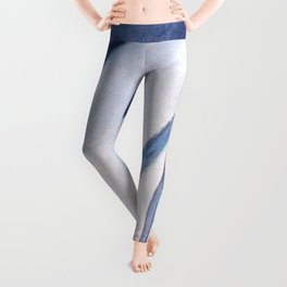 Striped baby dolphin Leggings