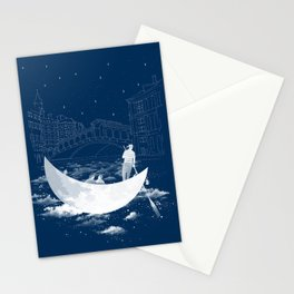 a Midnight in Venice Stationery Cards