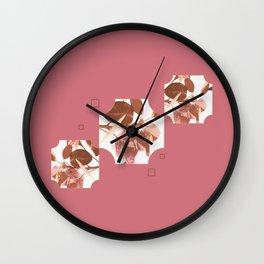 Leaves & Deco #society6 #decor #buyart Wall Clock