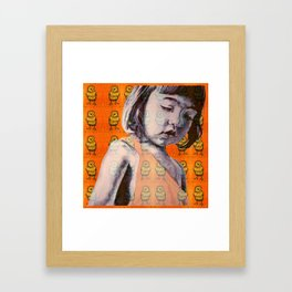 BIDDY GIRL Framed Art Print