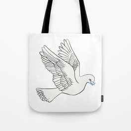 Whatsapp's Carrier Pigeon Tote Bag