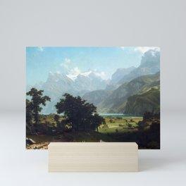 Albert Bierstadt Lake Lucerne Mini Art Print