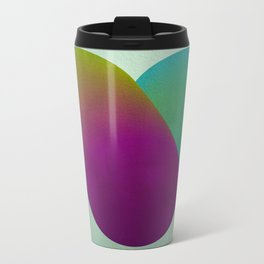 Heart in color Metal Travel Mug