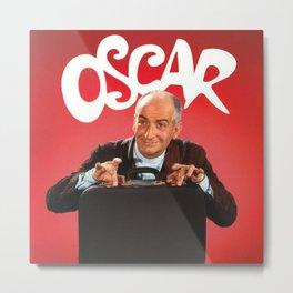 Oscar - Louis de Funès Metal Print