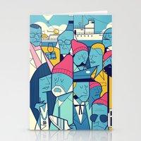 zissou Stationery Cards featuring The Life Acquatic with Steve Zissou by Ale Giorgini