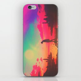 Emotive Sky iPhone Skin