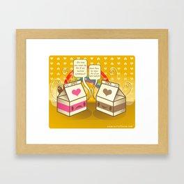 Milk Opera Framed Art Print