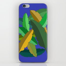 Bunch of Banana Leaves iPhone Skin
