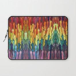 rainbow power Laptop Sleeve