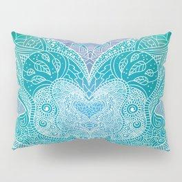 Butterfly mandala Pillow Sham