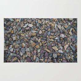 Pebbles on Lake Champlain Rug
