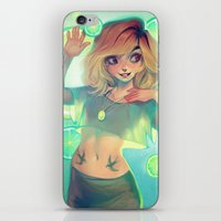 loish iPhone & iPod Skins featuring Lemonade by loish