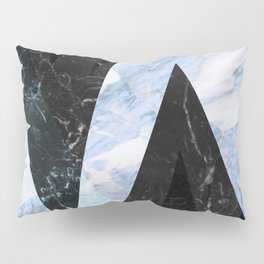 Marble stone ( frozen ) Pillow Sham
