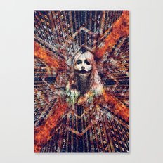 She wants the World to Burn Canvas Print