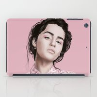 daenerys iPad Cases featuring Emilia  by Gatto Viola Designs by Alessandra Ragusa
