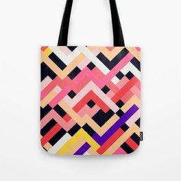 Coral&Black No. 1 Tote Bag