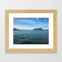 A shot from Isola Bella Framed Art Print