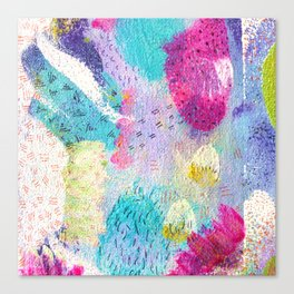 Abstract expression Canvas Print