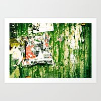 posters Art Prints featuring posters 2 by Renee Ansell