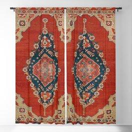 18th Century Turkish Textile Pattern II Blackout Curtain