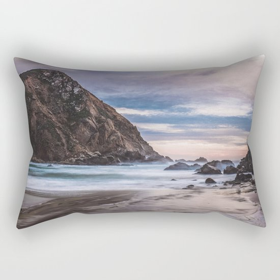 The Ocean Stirs The Heart Rectangular Pillow