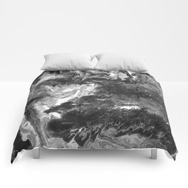Grayscale Pour 744 Comforters
