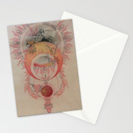 The Sun's Robin Gives Birth to a Planet Stationery Cards