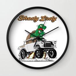 Shady Lady 55 Gasser - Rev 4.0 Wall Clock