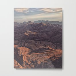 Punta de la Sierra Metal Print