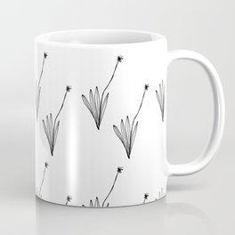 Line Art Botanical, Modern Floral Coffee Mug