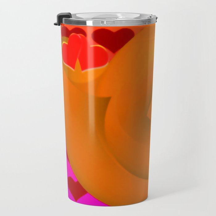 A snail shell for two ... Travel Mug