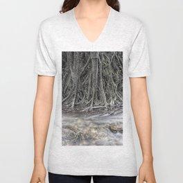 Rubber Tree Unisex V-Neck