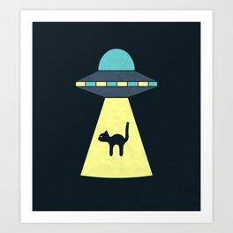 We Just Want The Cat Art Print