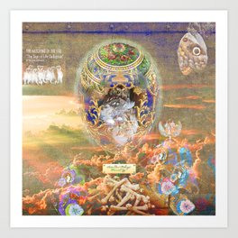 THE HATCHING OF THE EGG (The Sign of Life Collection) Art Print