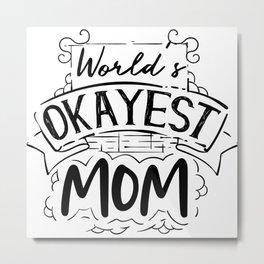 mommy, mama, grandmother Metal Print