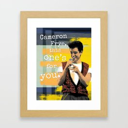 This One's For You Framed Art Print