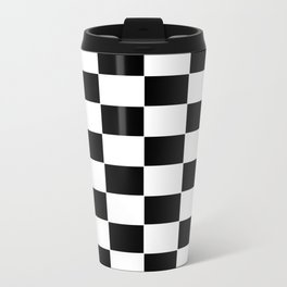 Checkerboard pattern Travel Mug