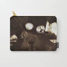 Steampunk Guinea Pig Carry-All Pouch