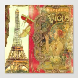 The Crickets of Paris Canvas Print