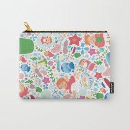 Ponyo Pattern - Studio Ghibli Carry-All Pouch