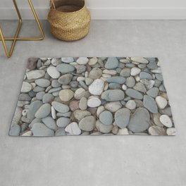 River Stones Fall Autumn Patterns Rug
