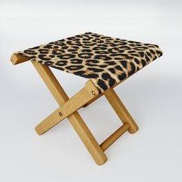 ReAL LeOparD Folding Stool