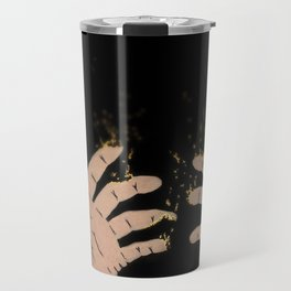 Fade to gold Travel Mug