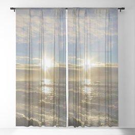 Storm Subsiding Sheer Curtain