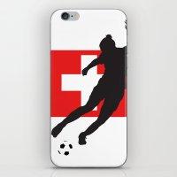 switzerland iPhone & iPod Skins featuring Switzerland - WWC by Alrkeaton