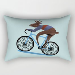 'Tis the season to be cycling Rectangular Pillow