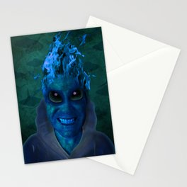 BLUE PLANET ALIEN (Us And Them) Stationery Cards