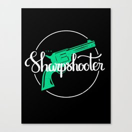 The Sharpshooter Canvas Print