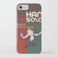 han solo iPhone & iPod Cases featuring Han Solo by Alex Santaló