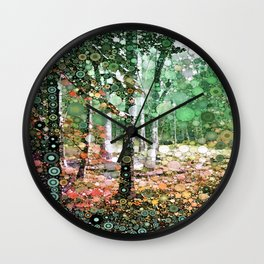 :: Walk in the Woods :: Wall Clock
